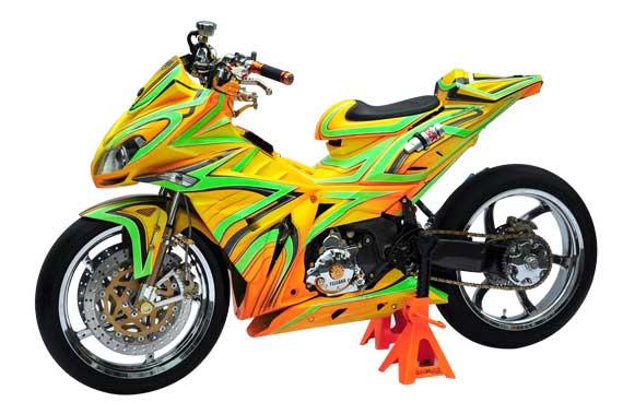 Modif Jupiter MX 135LC, MotoGP Style From Muntilan