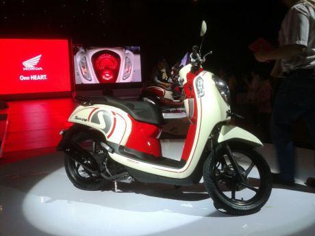 Desain New Honda Scoopy FI