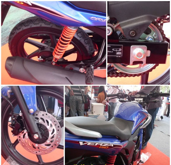 Fitur-fitur Unggulan Honda Verza 150