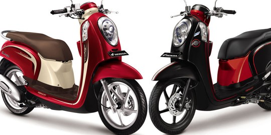 New Honda Scoopy-FI, Makin Retro Stylish