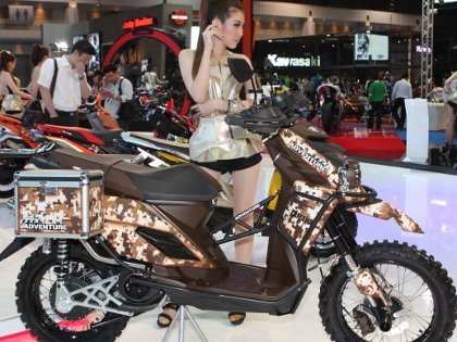 Yamaha Indonesia Uji Skutik TTX