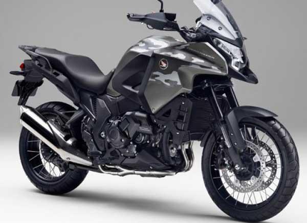 Konsep crossover Honda VFR1200X untuk Menarik Konsumen