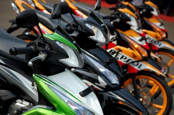 Menyiapkan New Honda Blade Injeksi 125cc untuk Tahun 2014