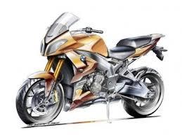Sketsa Terbaru dengan BMW S1000F