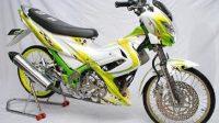 Full Airbrush sebagai Konsep Modifikasi Satria FU 150cc