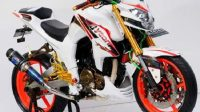 Modifikasi Yamaha Byson Full custom Street Fighter