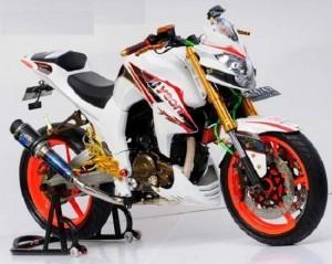 Modifikasi Yamaha Byson Full custom Street Fighter