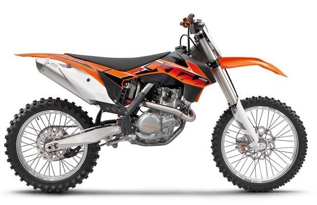 Motocross KTM 450 SX - F Dengan mesin baru Dan Lebih Ringan