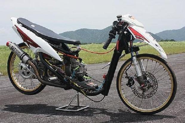 Perubahan Mesin Mio menjadi Motor race dengan Kecepatan Tinggi