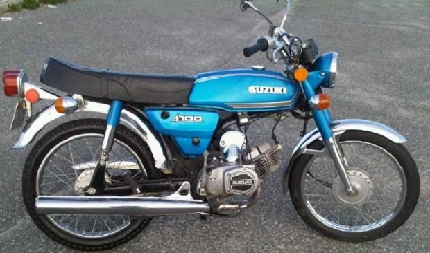 Suzuki a100 econos Sebagai sepeda motor klasik Terbaik