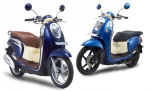 Tampilan Warna Baru Honda Scoopy FI sebagai Raja Skutik