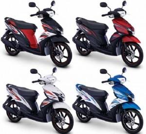 Tema Young and Sporty untuk Wajah baru Mio GT 2014