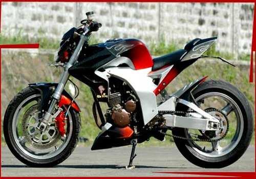 Upgrade Yamaha Scorpio Menjadi Model Sport