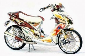 Perubahan untuk Tampilan baru Mio J Dari bentuk Aslinya