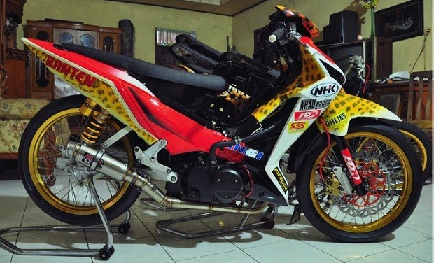 Motor Vega zr Modifikasi Modifikasi Motor Balap Vega zr