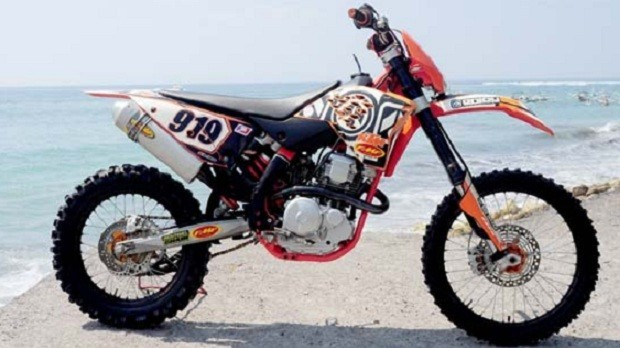 Modifikasi Scorpio Z dengan Bentuk Trail Sesuai Kapasitas dan Ketahanan Mesin