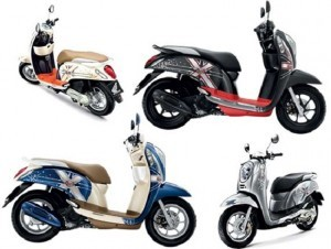 Perbandingan Honda Scoopy-i S12 buatan Thailand