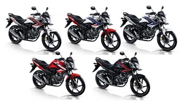 Warna Honda CB150R makin fresh dengan Harga Terjangkau