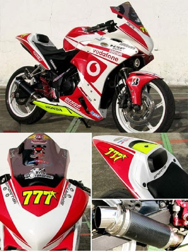 Ciri Khas dari Modifikasi Honda CBR 250 Layaknya MotoGp