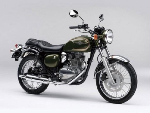 Kawasaki Estrella 250 dengan Gaya retro Yang Diperbaharui