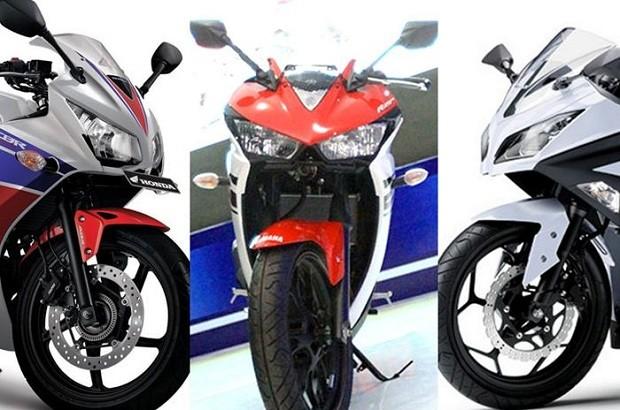 Komparasi power Yamaha R25 jauh Lebih baik dari Pesaingnya di kelas 250cc