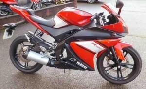 Kreasi Tinggi Modifikasi Yamaha Vixion Dengan Wajah R125 Yang Lebih Sporty