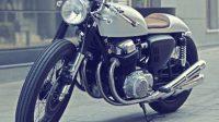 Wajah Berbeda Honda CB750 cafe racer Dengan gaya klasik Namun sporty