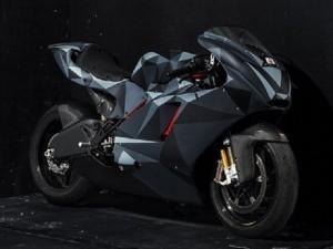 Modifikasi Bodi Ducati Dengan Konsep Origami