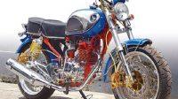 Trend Honda CB Awal Modifikasi Tiger dengan Wajah Berbeda