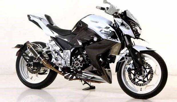 Kawasaki Z250 Dengan Karakter Sejati Aura Petarung