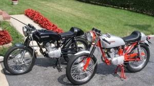 Modifikasi Honda CB dengan Naluri tinggi Bikers dan Ide kreatif