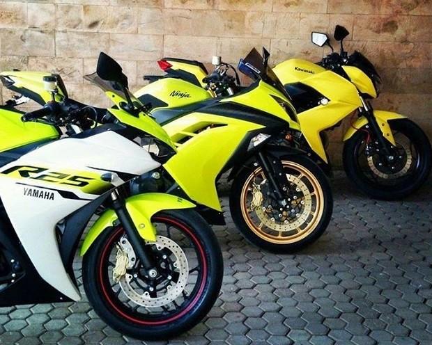 Modifikasi Yamaha YZF-R25 Dari Warna Hingga Kecepatan Mesin