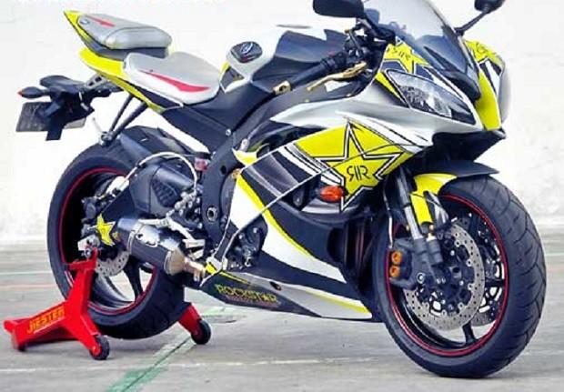 Modifikasi Yamaha YZF-R6 2014 Terbaru Ubah Tampilan Makin Keren