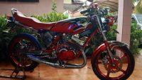 Modifikasi terbaru Yamaha RX King Sebagai Raja Jalanan