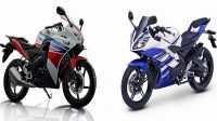 Adu Sangar New CBR150 dan YZF R15