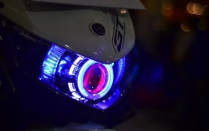 Dampak Negatif Penggunaan Lampu HID Untuk Motor Modifikasi
