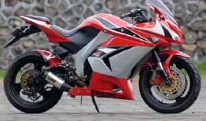 Ide Modifikasi Honda Mega Pro Untuk Teman Jalan