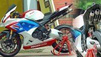 Menerapkan Konsep Modifikasi Motor Sport Ubah Wajah Scorpio