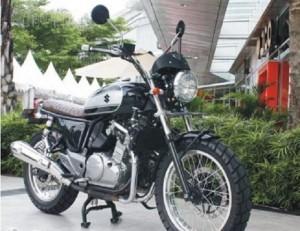 Modifikasi Suzuki Inazuma Dengan Gaya spektakuler