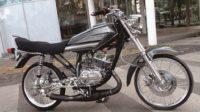 Modifikasi Yamaha RX-King Tampak Minimalis Dengan Konsep Baru