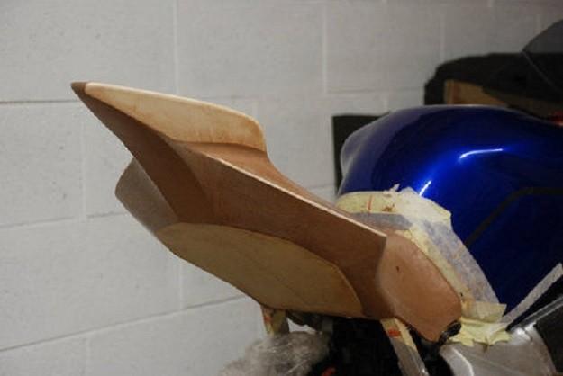 Tongkrongan Yamaha R6 Racikan Paolo Tesio Memiliki Keunikan Yang Berbahan Kayu