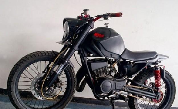 Modifikasi Motor Yamaha 2016: Modif Cat Yamaha Rx King