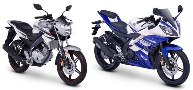 Mesin DOHC sportbike Yamaha New Vixion dan R15
