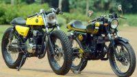 Modif Motor Jadul dengan Gaya Lebih Sporty 2015