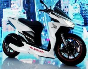 Modifikasi Street Racing Lowrider Honda Vario 150 eSP