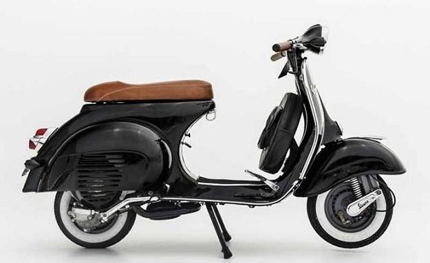Scooter On The Week Modifikasi Vespa 150 Vbb 1963 Tampil Dengan