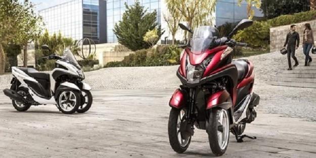 Yamaha Tricity Akan Hadir Di Indonesia Menggunakan Trio Cakram Rem