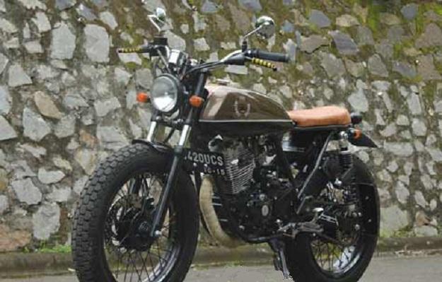 Modifikasi Japs Style Yamaha Scorpio Terlihat Menggoda