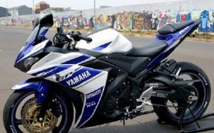 Modifikasi Kaki-Kaki Yamaha YZF-R25 Dengan Limbah Moge