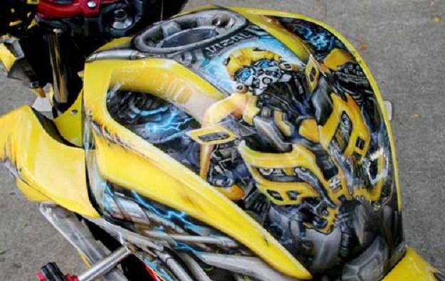Modifikasi Kawasaki Z250, Menjadi Tunggangan Multitalenta